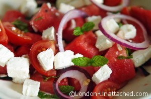 Watermelon and Feta Salad for 5:2 Diet
