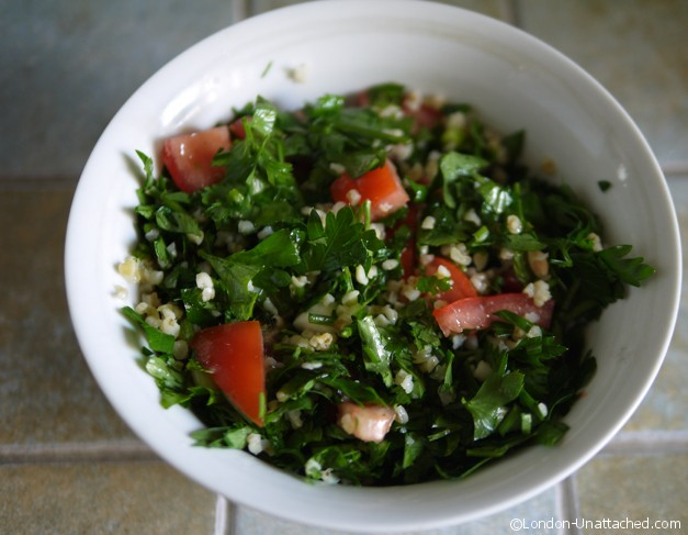 Simple 5-2 Diet Friendly Salads - Taboulah