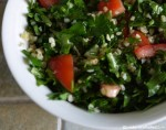 Taboulah Recipe for a healthy detox