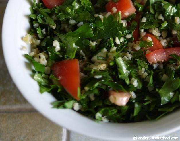5:2 diet recipes - healthy detox Taboulah Salad