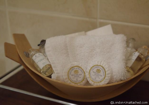 Toiletries, Draycott Hotel