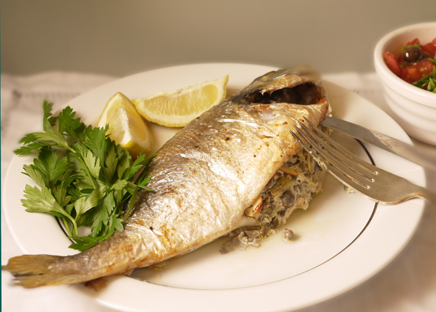 Total Greek Sea Bream and Salad