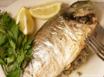 Total Greek Sea Bream - served