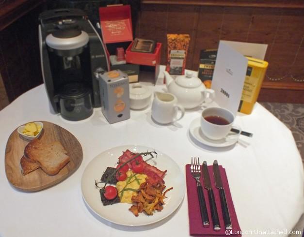 Twinings Breakfast at the Savoy - 21st Century Breakfast copy