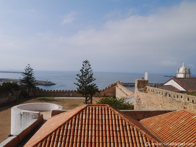 View to Sea from Sines Castle Tower