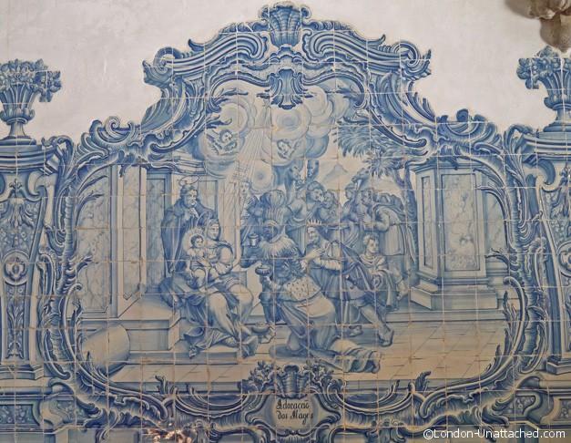 Wall Tile Detail Church Sines