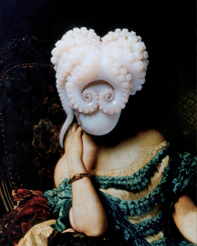 Yumiko Utsu, 'Octopus Portrait' (2009). C-type print. Copyright the artist. Image courtesy of Michael Hoppen Contemporary and GP Gallery