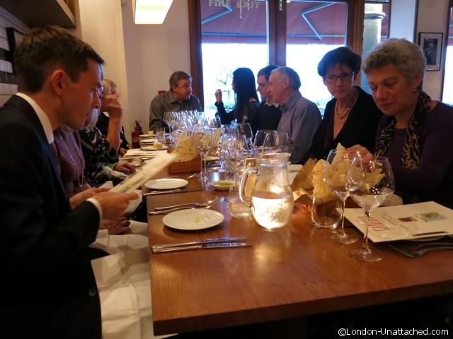 Cantina del Ponte wine tasters