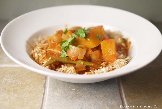 5-2 Diet Chicken and Butternut Squash Curry