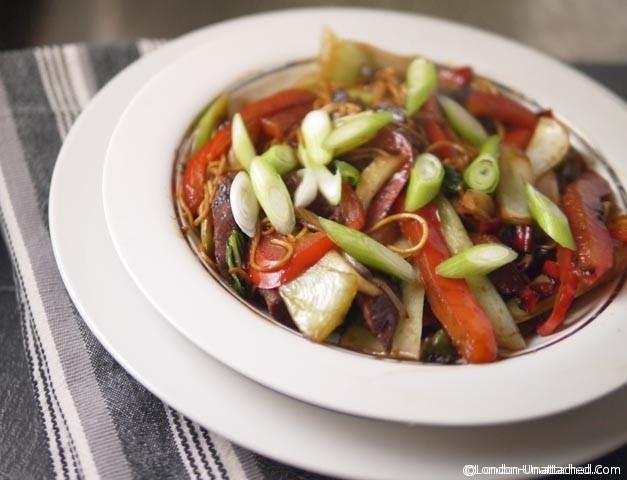 A Simple, Spicy 5:2 Diet Friendly Pork Stir Fry Recipe - Low Calorie