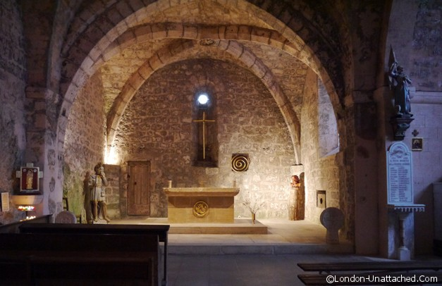 Causses et Cevennes - La Couvertoirade church
