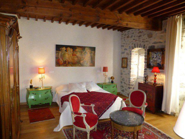Chateau de Mandagout Bedroom