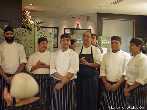 Chefs Moti Mahal Covent Garden