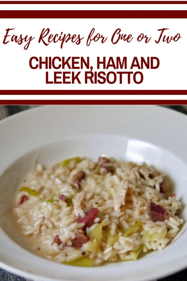 Chicken Ham and Leek Risotto
