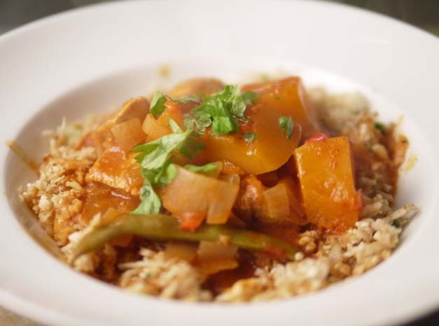 Chicken and Butternut Squash Curry - Low Calorie Diet recipe