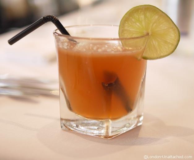 Cinnamon Cocktail at Cinnamon Culture