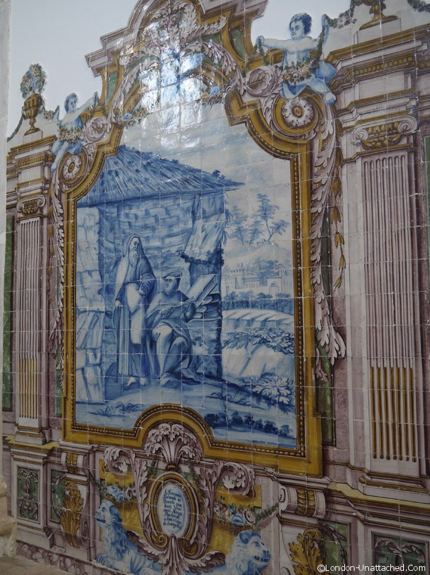 Convento Tiles in the church