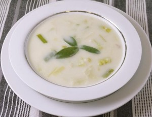 Creamy Leek Soup – 5:2 Diet Recipe