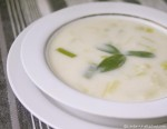 5:2 Diet Recipe – Cream of Leek Soup #Vegetarian #Vegan
