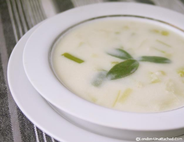 Cream of Leek Soup 3