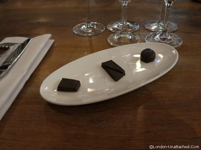 Gaucho Trio of Chocolate