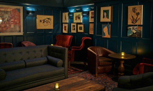 House of St Barnabas Soho Lounge