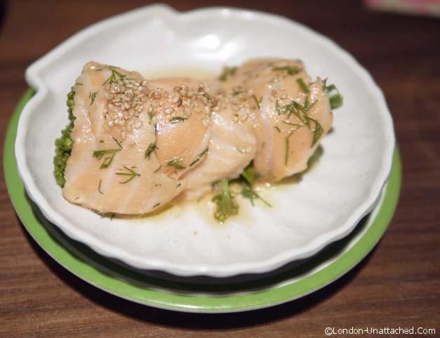K10 - salmon ceviche
