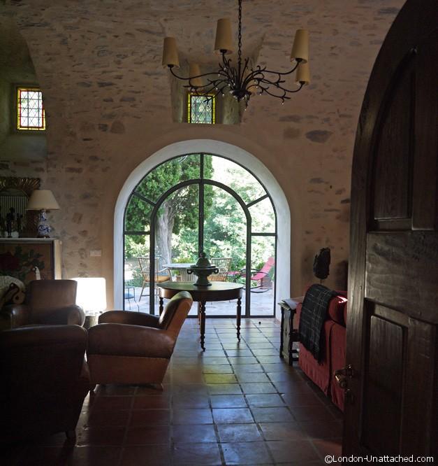Sitting Room Chateau de Mandagout
