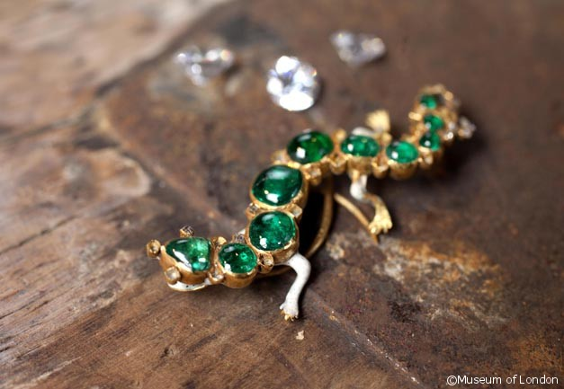 The Cheapside Hoard Salamander Brooch