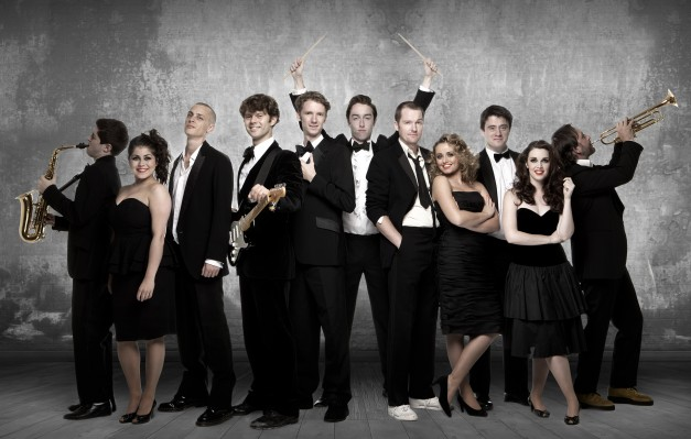 The young and vibrant cast of the Commitments