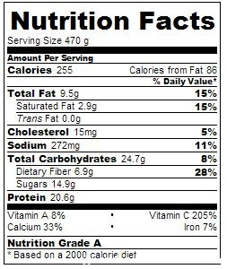 5-2 Diet Cauliflower Cheese