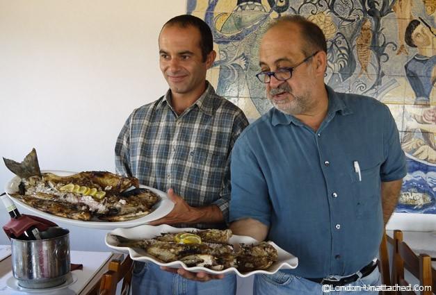 Alentejo - sea bass and sea bream at Arte et Sal