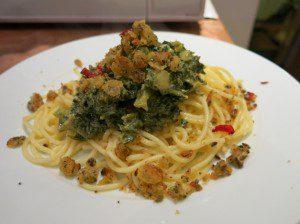 Applewood Smoked Cheese Pesto and Pasta