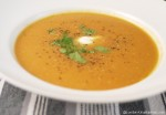 Carrot and Sweet Potato Soup 5:2 diet