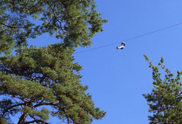 Causses et Cevennes - Katie flies