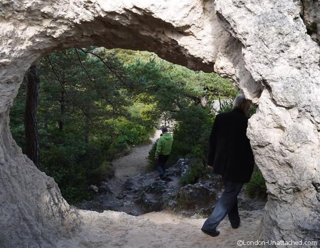 Causses et Cevennes - montpellier le vieux rock formations