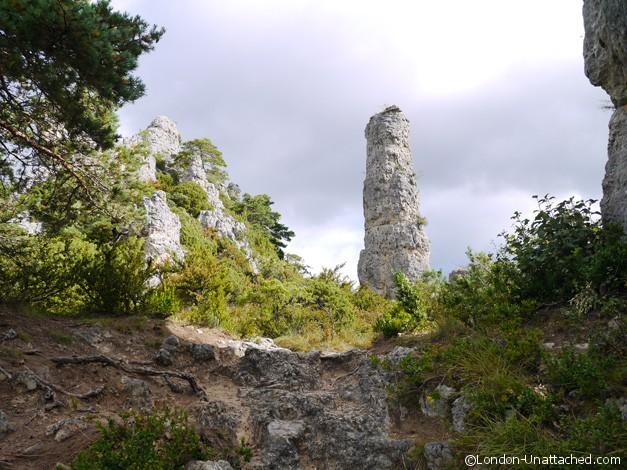 Causses et Cevennes - pillar