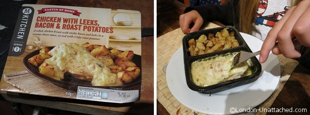 Morrisons Kitchen Chicken with Leeks