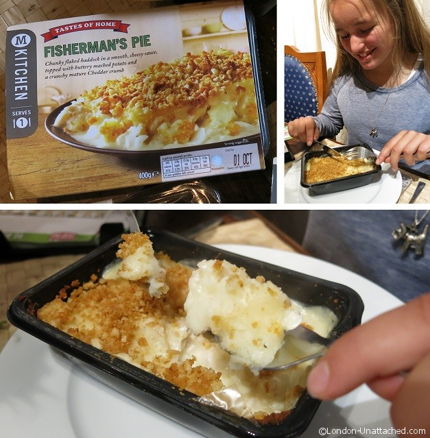 Morrisons Kitchen Fishermans Pie