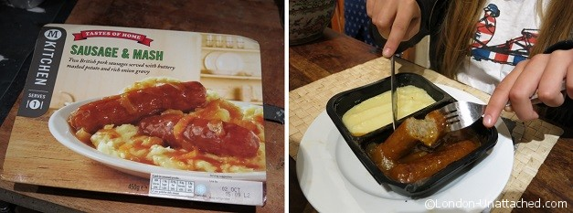 Morrisons Kitchen Sausage and Mash