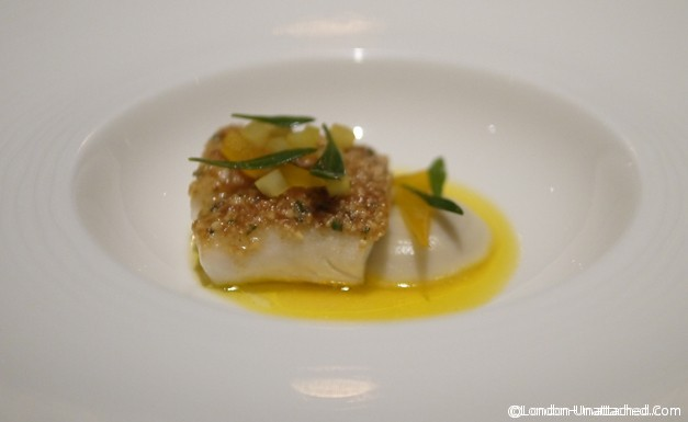 Nathan Outlaw Fine Dining - Cod