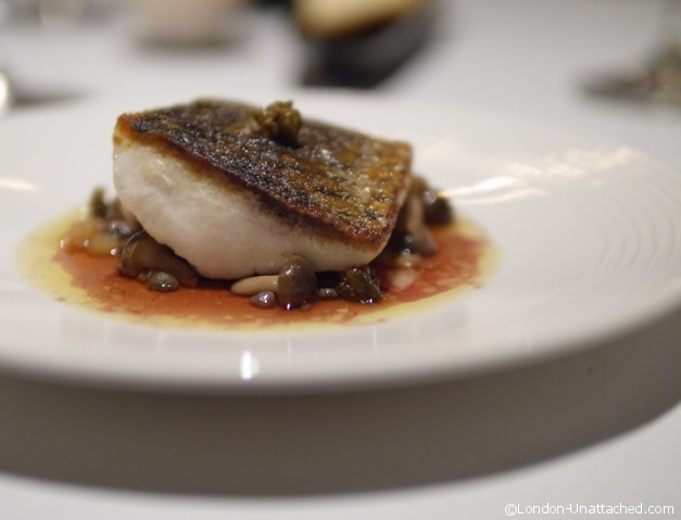 Nathan Outlaw Fine Dining Grey Mullet