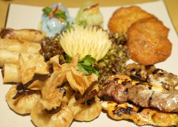 Nipa thai Platter