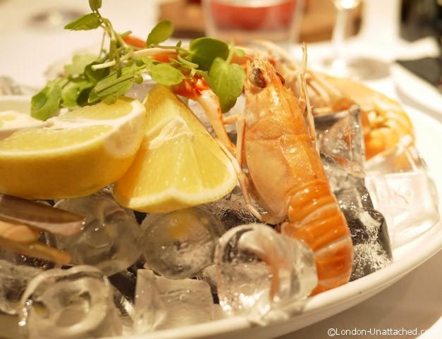 Pescatori seafood platter