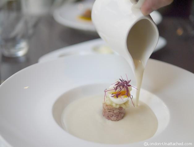 Petrichor - Celeriac and ham soup