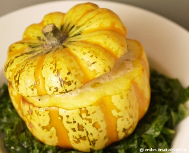Stuffed Squash - a Low Calorie 5:2 Diet Recipe