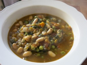 Winter Warmer Soup In A Bowl