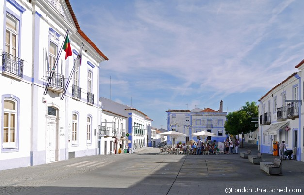 Arraiolos Portugal town centre