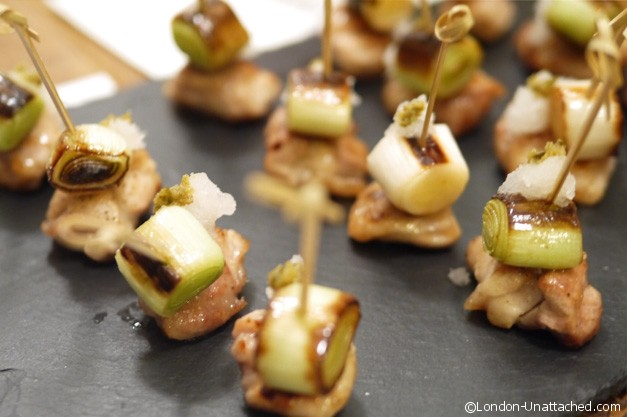 Canapes at Atsukos kitchen