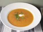 Carrot and Sweet potato soup for 5-2 diet